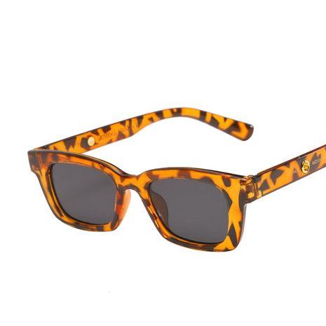 Gafas de sol cuadradas pequeñas nuevas gafas de sol del mismo estilo gafas de sol retro de moda al por mayor nihaojewelry NHKD237401's discount tags