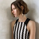Fashion long pearl rhinestone earrings for women trend crystal earrings jewelry nihaojewelry NHLA237709