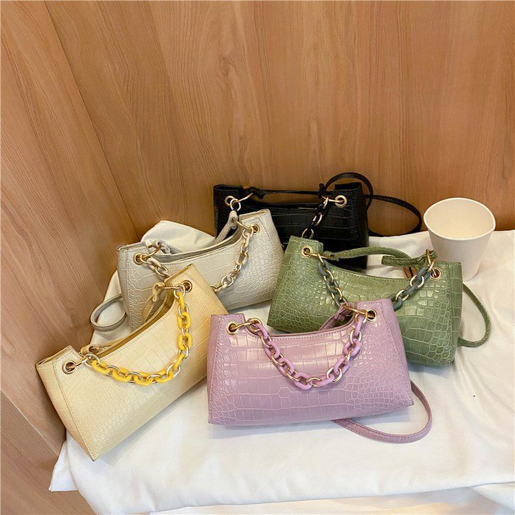 Fashion Summer small bag handbags new trendy wild trend one-shoulder bag western fashion chain handbag NHXC237871
