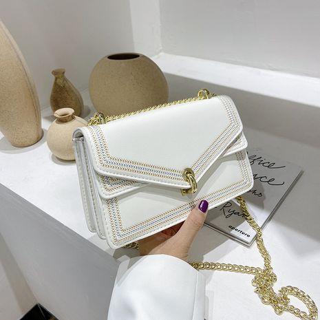 Bolsos de bolsos pequeños de moda de verano para mujeres bolso de mensajero de cadena de moda nuevo bolso de hombro salvaje al por mayor NHJZ237935's discount tags