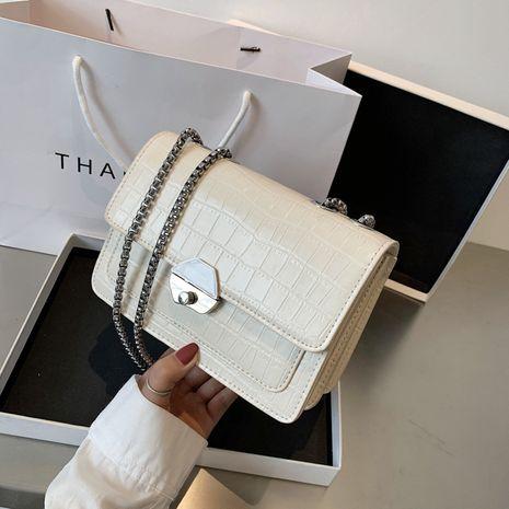 Fashion women's handbag messenger bag summer fashion retro crocodile pattern chain bag shoulder bag NHJZ237944's discount tags
