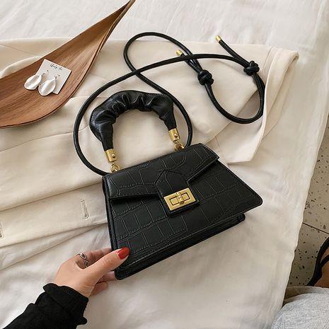Bolso pequeño retro de moda verano nuevo bolso de mensajero de moda a la moda bolso cuadrado pequeño portátil para mujer NHJZ237946's discount tags