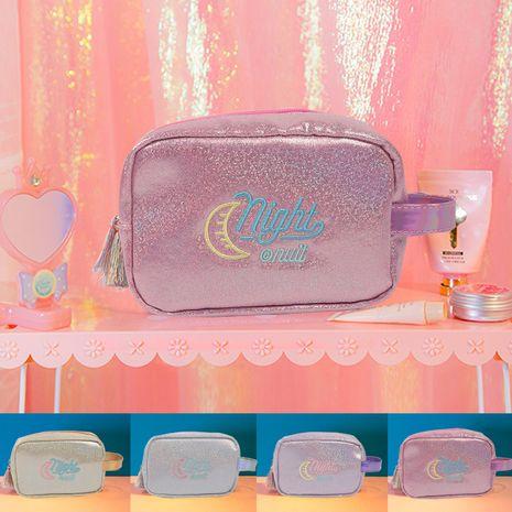 Sac à cosmétiques de voyage de mode coréenne Sac de rangement de voyage portable Nouveau sac à cosmétiques à main Trousse de toilette Nihaojewelry NHBN237967's discount tags