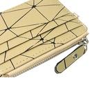 New Korean fashion coin wallet purse checkered coin bag zipper wallet multicard slot short card bag nihaojewelry NHBN237981