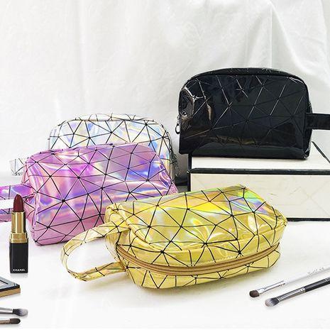 Corea moda bolsa de almacenamiento portátil simple bolsa de cosméticos de lápiz labial de viaje de gran capacidad para mujeres portátil pequeña multifunción NHBN237988's discount tags