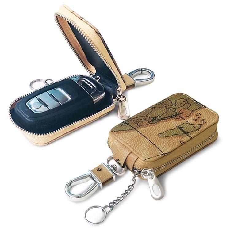 Korean fashion smart car key case map pattern universal key case new casual lock case wholesale nihaojewelry NHBN237992