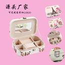 Fashion portable jewelry box jewelry box leather jewelry jewelry storage box wholesale nihaojewelry NHHO237999