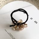 Mode perle lastique coiffure corenne accessoires de cheveux nouvelle tte corde cristal cheveux chouchous en gros nihaojewelry NHWF238061