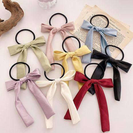 coréen élégant français arc cheveux chouchous simple anneau de cheveux en satin cravate prêle bande de caoutchouc coiffe en gros nihaojewelry NHOF238237's discount tags