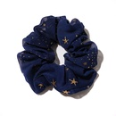 New star chiffon large intestine circle headdress sweet disc release hair scrunchies  wholesale nihaojewelry NHOF238238