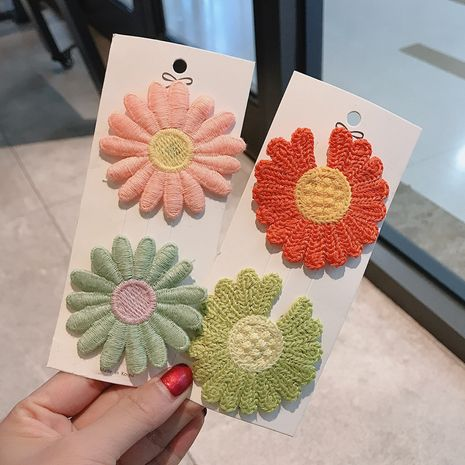 new head jewelry hair accessories mixed batch daisy hairpin wholesale nihaojewelry NHDQ238278's discount tags