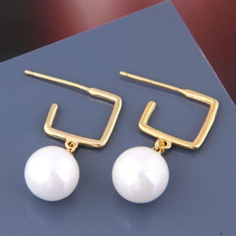 Boucles d'oreilles à la mode coréenne NHSC238421's discount tags