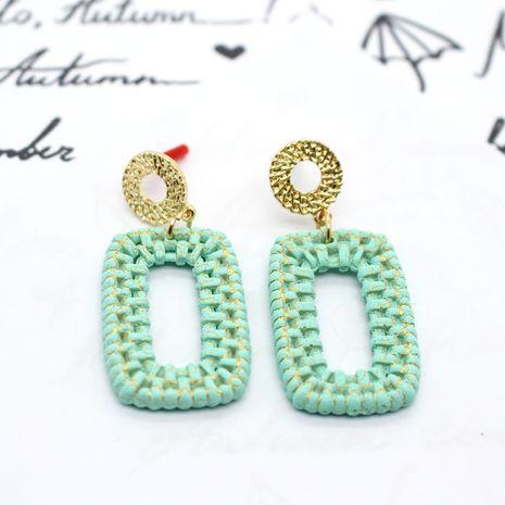 Fashion Acrylic rattan Korea long geometric color earrings nihaojewelry NHGO238458's discount tags