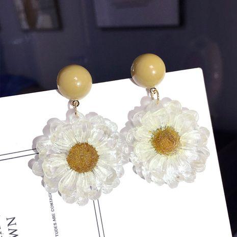 Korean daisy new fashion small flower fashion earrings wholesale nihaojewelry NHFT238594's discount tags
