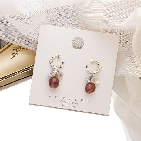 New925 Silver Needle élégantes boucles d'oreilles tendance perle d'eau douce pour les femmes Nihaojewelry NHMS238719's discount tags