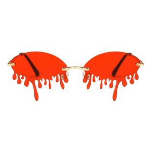 fashion sunglasses new exaggerated sunglasses bright sunglasses ladies wholesale nihaojewelry NHKD233600
