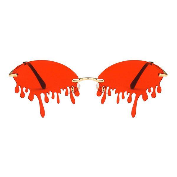 fashion sunglasses new exaggerated sunglasses bright sunglasses ladies wholesale nihaojewelry NHKD233600
