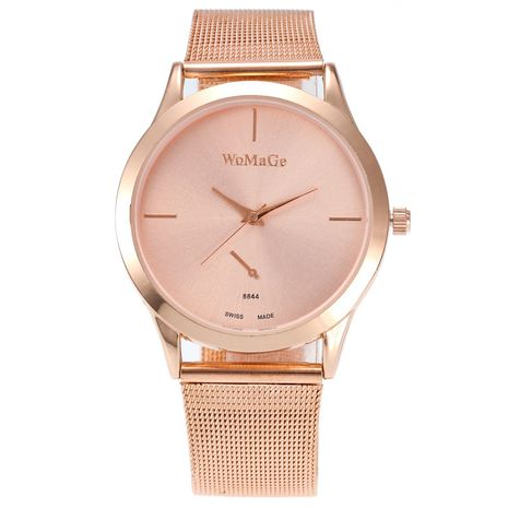 Fashion new mesh strap watch ultra-thin quartz simple watch for women wholesale nihaojewelry NHSS238822's discount tags