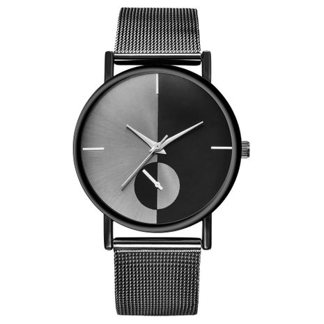 Ladies mesh strap no logo simple ultra-thin alloy quartz fashion decorative watch nihaojewelry NHSS238824's discount tags
