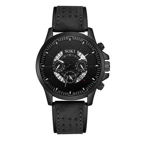 Reloj casual de hombre simple Reloj deportivo de hombre de calendario británico hueco simple de estilo británico NHSS238829's discount tags