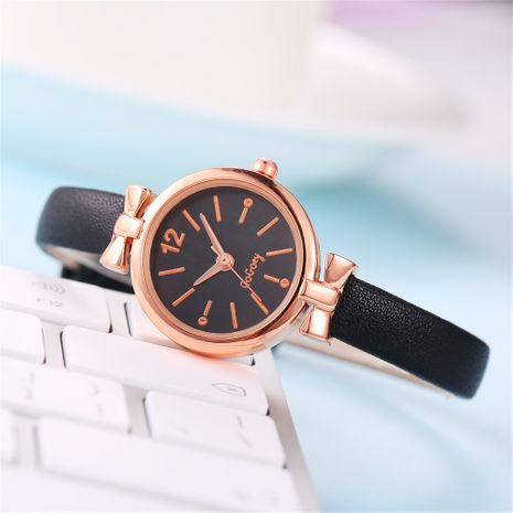 Simple small thin strap  quartz watch fashion  watch for women nihaojewelry NHSS238835's discount tags
