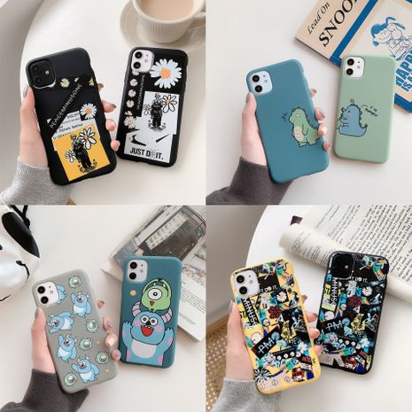 iphone se mobile phone case for vivo oppo Huawei 1.5mm cartoon matte mobile protective cover  NHKI238873's discount tags