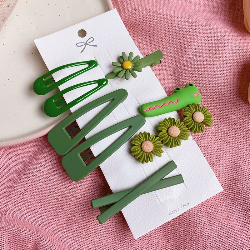 Children hairpin color hairpin Korean princess hair accessories girls small clip headdress clip wholesale nihaojewelry NHPJ231202