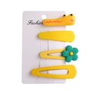 Hairpin new small daisy flowers hair accessories fairy super fairy side clip girl wholesale nihaojewelry NHPJ231208