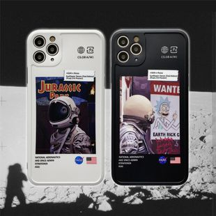 Astronaut mobile phone shell is suitable for iphone XR/SE2 /P40pro anti-fall wholesale nihaojewelry NHFI231235's discount tags