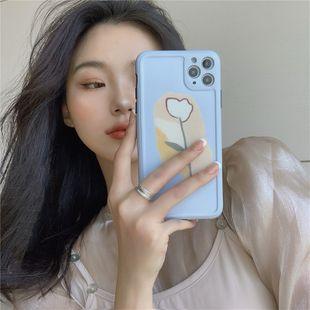 Cas de téléphone portable tulipe bleu clair pour iphone XS / XR / iPhone7 / 8plus / mate30 gros nihaojewelry NHFI231246's discount tags