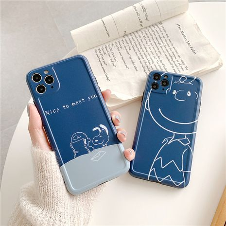 cartoon mobile phone case camera protective cover suitable for iphoneXS/XR/mate30/p40 wholesale nihaojewelry NHFI231255's discount tags