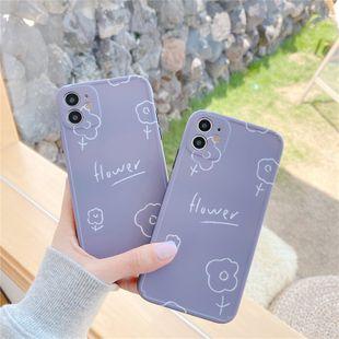 La fleur de ligne violette convient à l'iPhone11 pro / 8plus / XS / XR / SE2 en gros nihaojewelry NHFI231272's discount tags