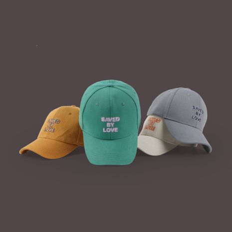 Hat summer sun hat Korean cap summer hat men embroidery baseball cap wholesale nihaojewelry NHTQ231387's discount tags