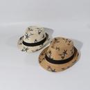 Chapeau de soleil pour enfants Jazz Chapeau de paille t Bb Top Hat Summer Shade gros nihaojewelry NHTQ231388