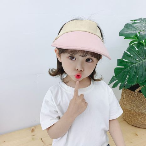 Baby hat sun hat  girl sunscreen top hat baseball cap  baby cool hat wholesale nihaojewelry NHTQ231390's discount tags