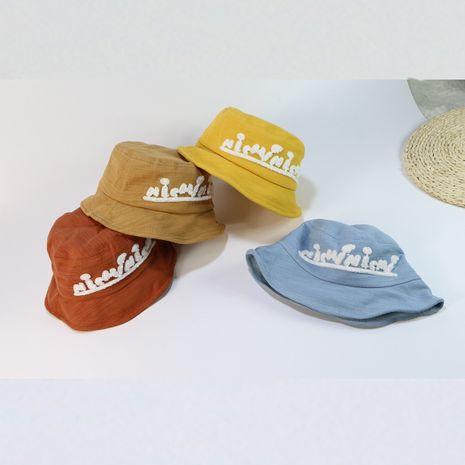 Boy hat  fisherman hat summer new ullzang basin hat children sunscreen hat wholesale nihaojewelry NHTQ231402's discount tags