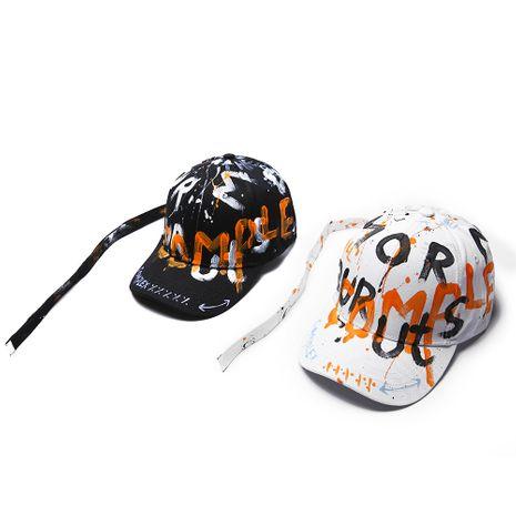 Cap graffiti hat heat street sunscreen hat baseball cap summer sunscreen hat wholesale nihaojewelry NHTQ231404's discount tags