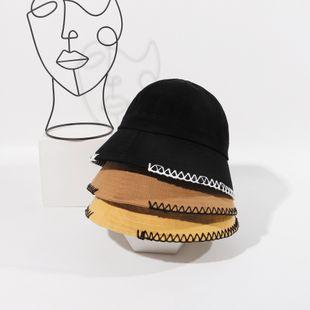 Chapeau de pêcheur chapeau de seau coréen nouveau chapeau chapeau de soleil d'été dames protection UV en gros nihaojewelry NHTQ231407's discount tags