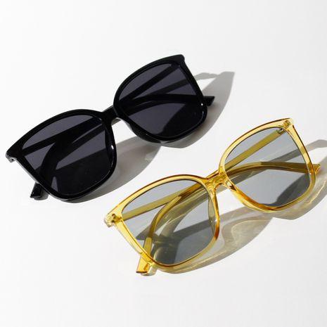 Korean  popular new big frame fashion sunglasses summer transparent color sunglasses wholesale nihaojewelry NHXU231426's discount tags