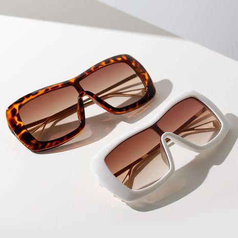 oversized frame glasses modified face shape big frame retro sunglasses super cool Korean sunglasses wholesale nihaojewelry NHXU231427's discount tags