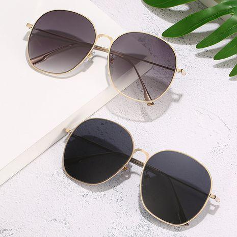 nouvelles lunettes de soleil anti-ultraviolets film océanique miroir unisexe rond gros nihaojewelry NHBA231438's discount tags