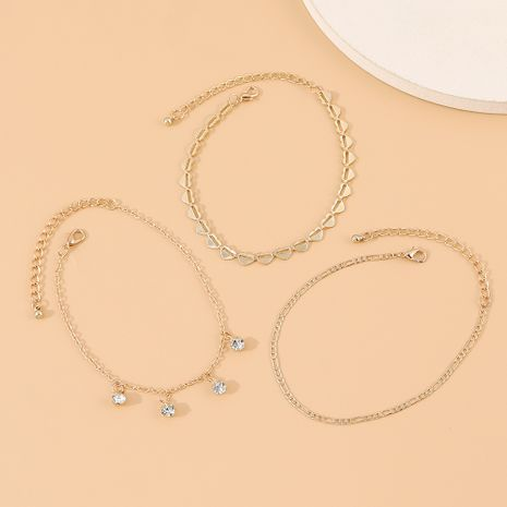 vente chaude nouvelle mode créative strass cheville en gros nihaojewelry NHPS231464's discount tags