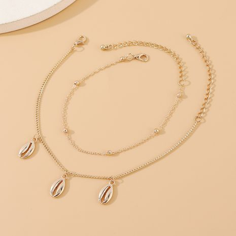 vente chaude nouvelle mode rétro populaire cheville créative en gros nihaojewelry NHPS231468's discount tags