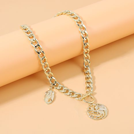 mode simple style créatif collier exagéré en gros nihaojewelry NHPS231471's discount tags