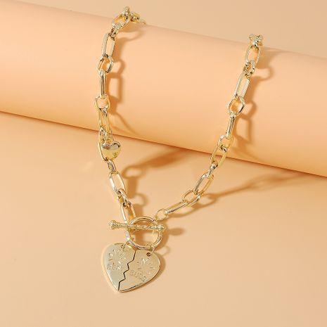 Mode créative coréenne rétro exagéré collier attrayant en gros nihaojewelry NHPS231477's discount tags
