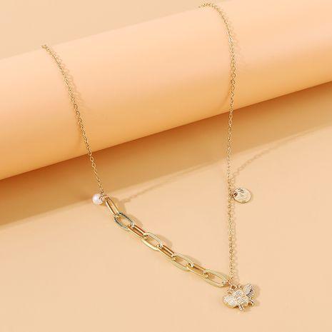 Coréenne nouvelle mode rétro créative petit collier d'abeille en gros nihaojewelry NHPS231478's discount tags