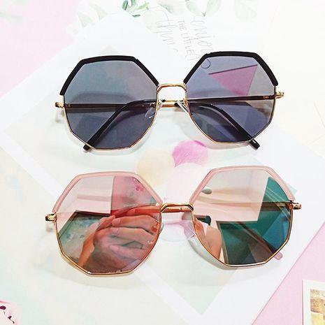 Korean polygonal irregular sunglasses round face retro sunglasses Harajuku style wholesale nihaojewelry NHBA231441's discount tags