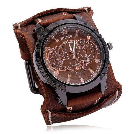 bracelet en cuir pour hommes de mode rétro bracelet en cuir punk bijoux en gros NHPK239284's discount tags