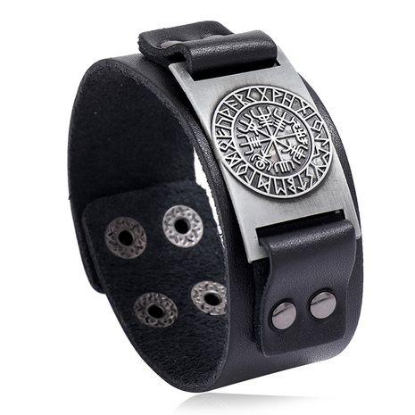 Vente chaude en cuir mode simple rétro punk bracelet bijoux pour hommes nihaojewelry NHPK239297's discount tags