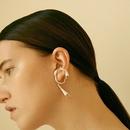 simples nouveaux crochets d39oreille irrguliers boucles d39oreilles perces en gros nihaojewelry NHNT239313